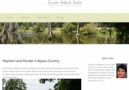 Author Linda Hebert Todd website by Oxblaze Media