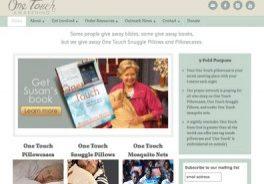 Oxblaze Media website design for One Touch Awakening
