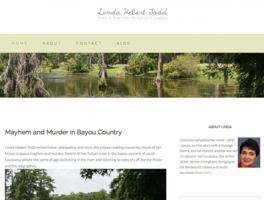 Author Linda Hebert Todd website by Oxblaze Media