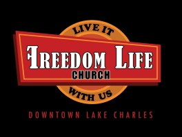 Oxblaze Media logo concept for Freedom Life Church in Lake Charles