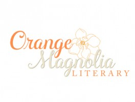 Orange Magnolia Literary logo design by Oxblaze Media