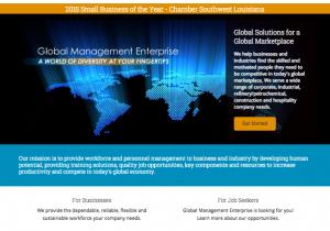 Global Management Enterprise website