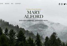 Mary Alford's author website - Christian Romantic Suspense